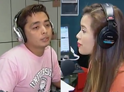 DJ Chacha of Tambayan 101 9 and DJ Papa Jack of Love Radio on Hot