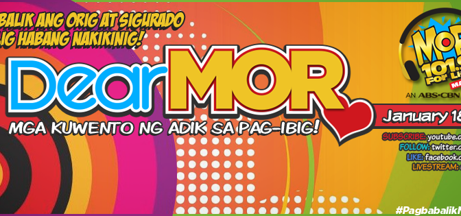 Listen to MOR 101.9 Manila Live Streaming, Send Greetings Text & Online with DJ Chikki, Papi Charlz and Toni