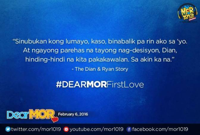 Listen to Dear MOR with Ms. M and Reggie V on MOR 101.9 Live Streaming