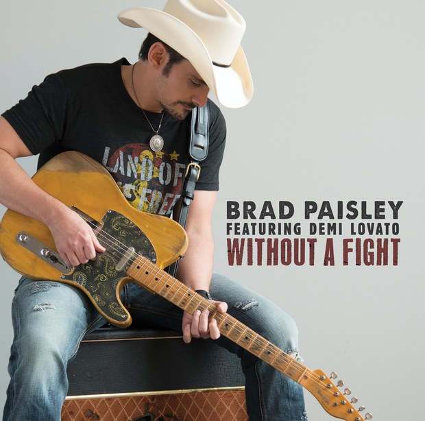 Brad Paisley Feat Demi Lovato - Without A Fight (New Song)