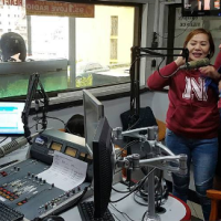 Love Radio 95.1 Baguio Studio Booth Photos and Radio Programming Clock