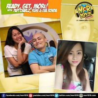 Live Streaming: MOR 101.9 with Papi Charlz, Yumi at Eva Ronda on ReadyGetMORe