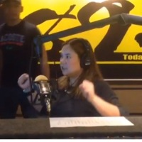 Watch DJ Suzy of Magic 89.9 Got Really Mad Behind The Microphone
