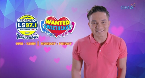 Wanted Sweetheart Papa Bol Barangay LS 971 Manila