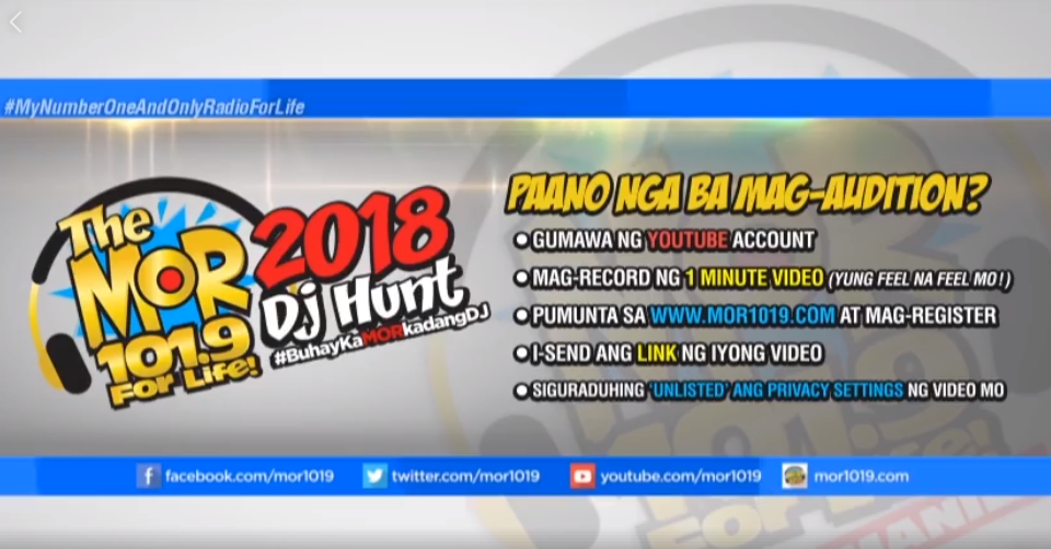 How to Apply for Radio DJ at MOR 101 9 Manila | Radio Online Now