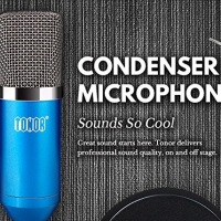 Radio Broadcast Gear: TONOR Professional Studio Condenser Microphone