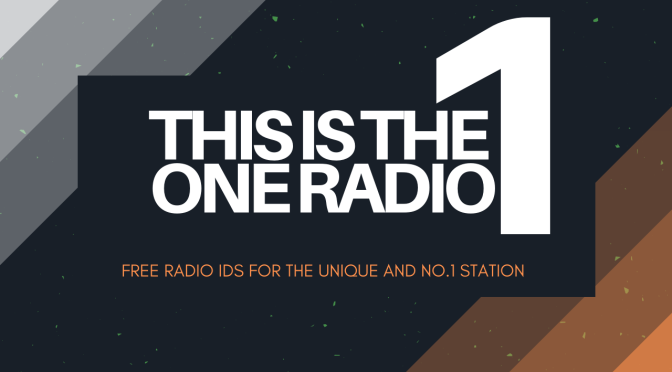 Free Radio One Jingles with Morning, Day, Afternoon Drive Home and Night Radio IDs