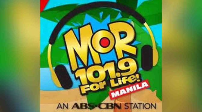 Listen Live MOR 101.9 Manila Video Streaming