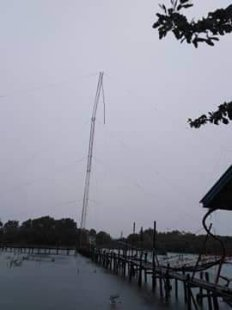 Transmitters for AM Stations in Iloilo down due to Typhoon Hannah in the Philippines